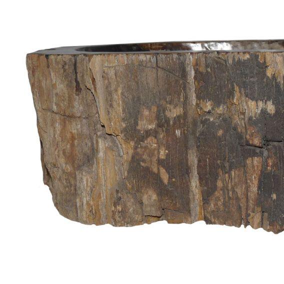 Lave-mains bois fossilisé 1020PWO-BW-02S
