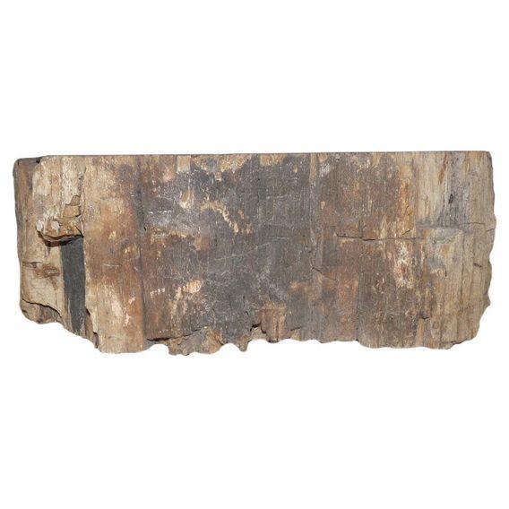 petit lavabo bois fossilisé 1020PWO-BW-04S
