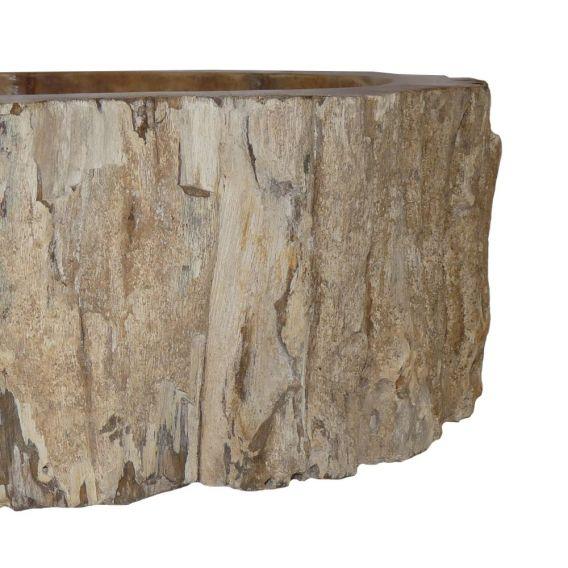 Lave-mains bois fossilisé 1020 PWOBR-02S