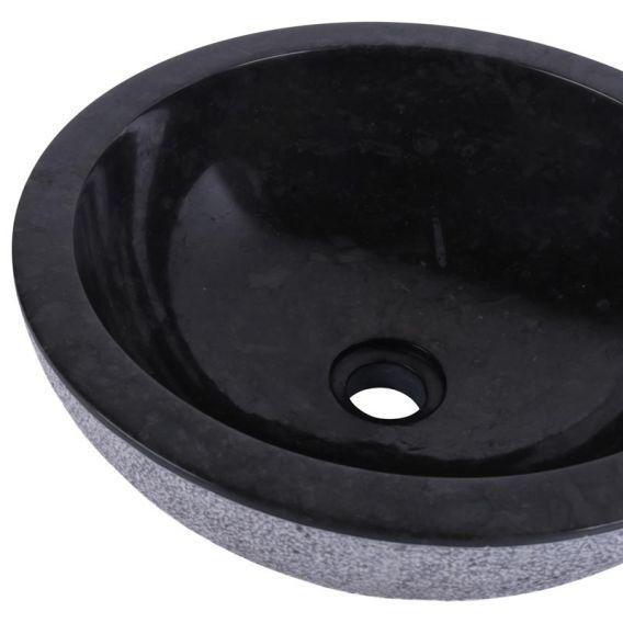 Vasque marbre ronde salle de bain KC-D