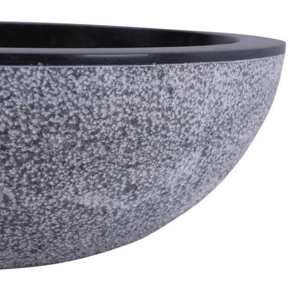 Vasque marbre noire salle de bains KC-D
