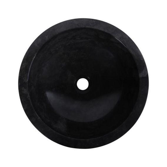 Vasque marbre ronde Ø40cm brute KC-M