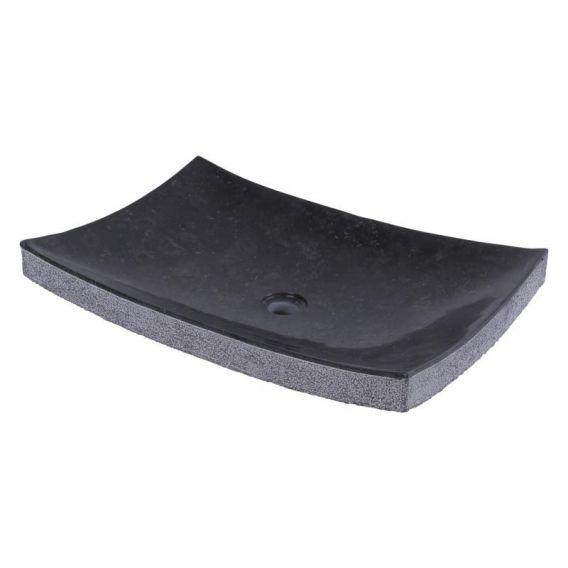 Vasque marbre à poser 60cm points RZB-D
