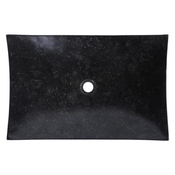 Vasque noire design 60cm points RZB-D