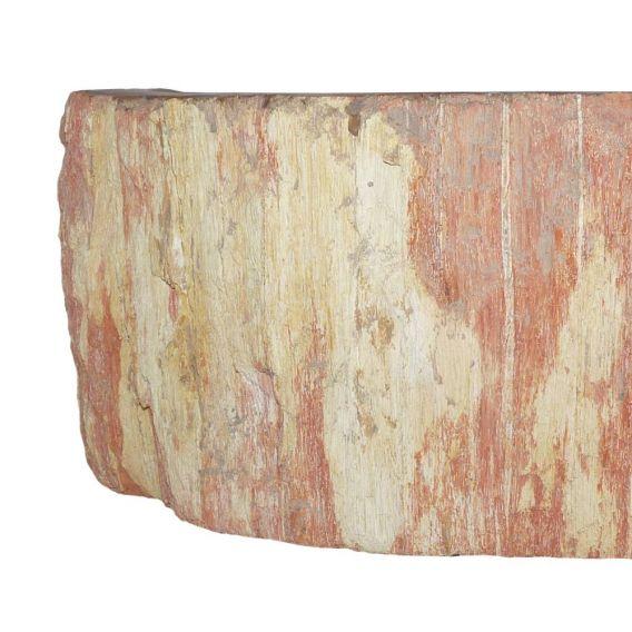 Lave-mains bois fossiliser à poser PWO-BW-01S