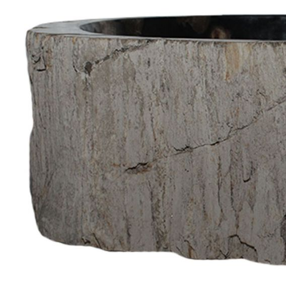 Vasque bois fossilisé PWO-BW-7M