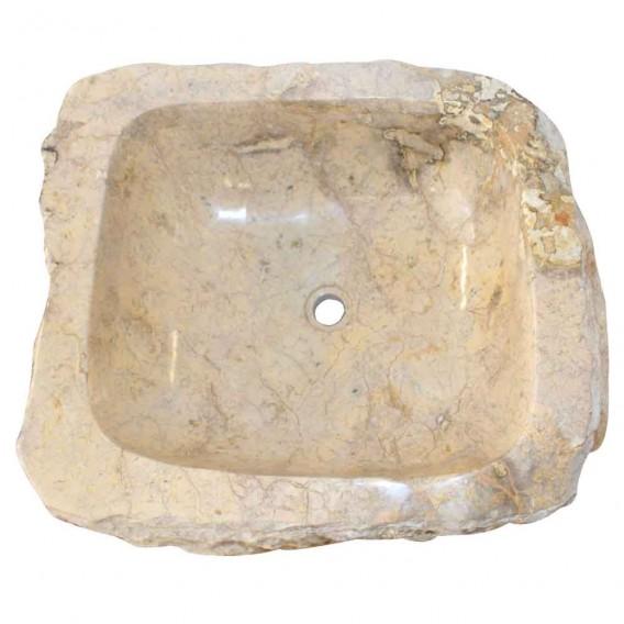 Vasque sur pied marbre naturel brut PNM-B