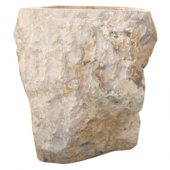 lavabo colonne marbre naturel brut PNM-B
