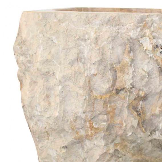 lavabo sur pied marbre naturel brut PNM-B