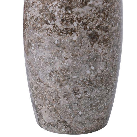 Distributeur de savon en marbre modèle D gris