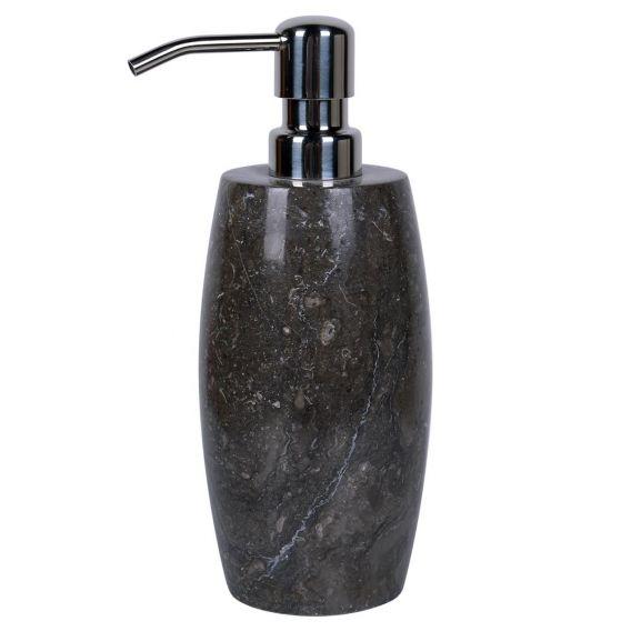 pousse savon en marbre modèle D noir