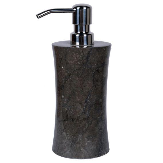 accessoire de savon en marbre modèle C noir