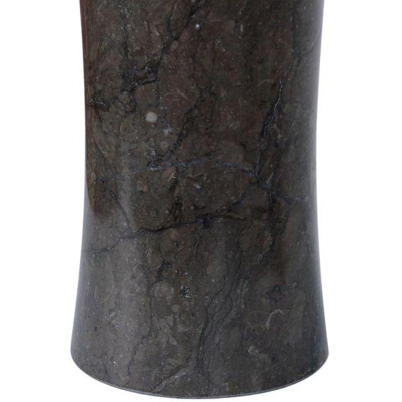 Distributeur de savon en marbre modèle C noir
