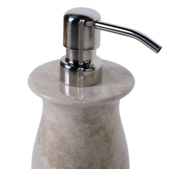 Distributeur de savon en marbre modèle B beige