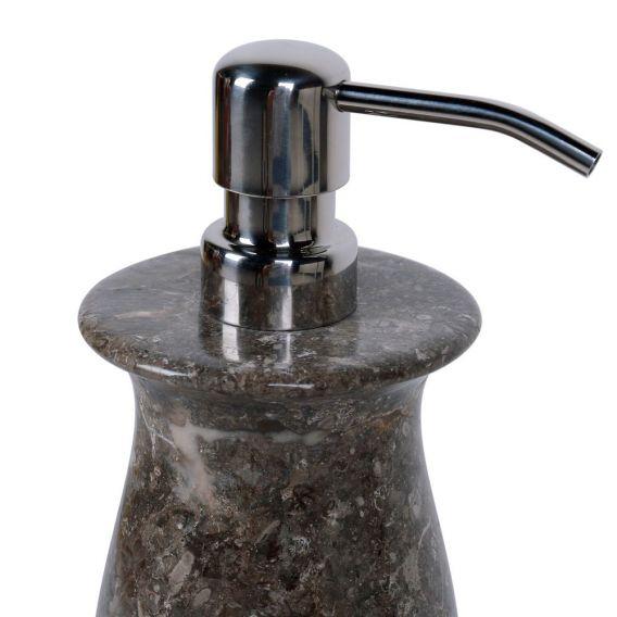 accessoires savon en marbre modèle B gris