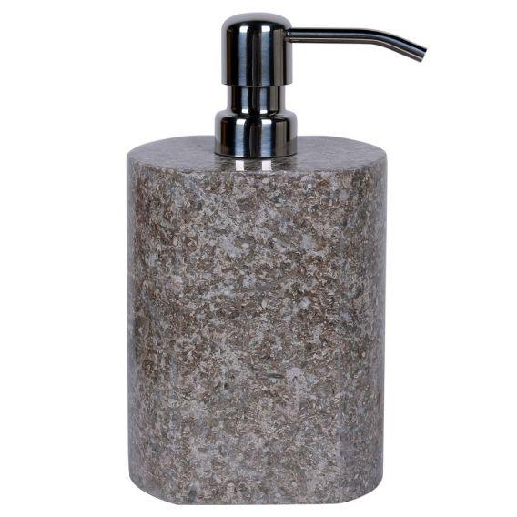 accessoire savon en marbre modèle A gris