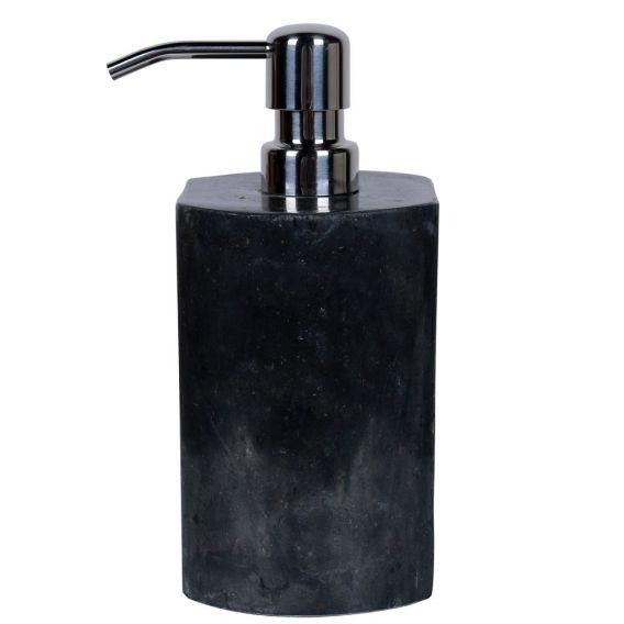 Distributeur de savon en marbre modèle A noir