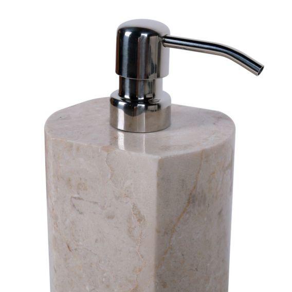 accessoire savon en marbre modèle A creme