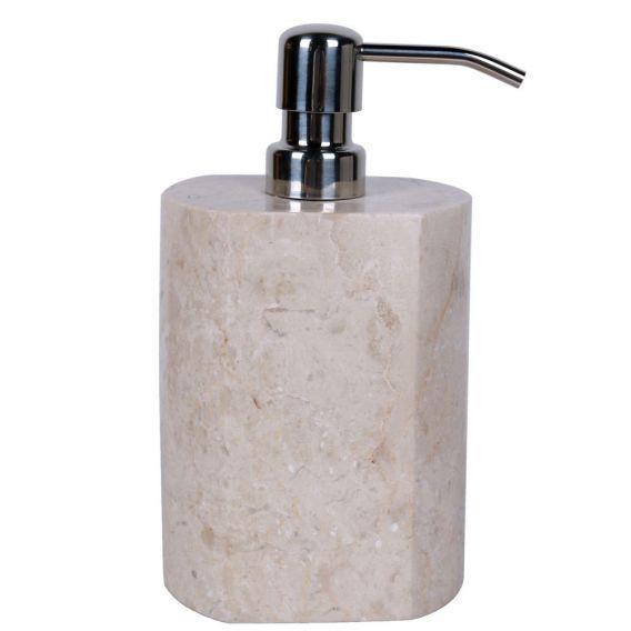 Distributeur de savon en marbre modèle A beige