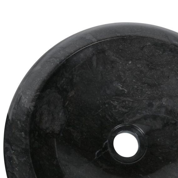 Vasque marbre rond Ø40cm lisse DN-P